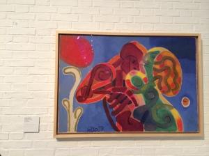 CoBrA artist Henry Heerup.