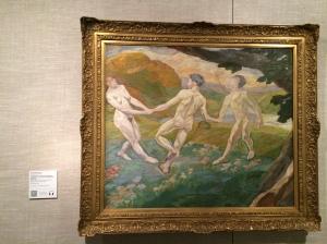 """Edvard Weie's """"Joie de Vivre, Three Dancing Figures""""  (1908)."""
