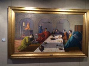 """Niels Larsen Stevns' """"Mary Anoints Christ's Feet""""  (1907)."""